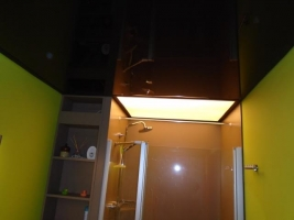 verlicht Plafotex Plafond in badkamer