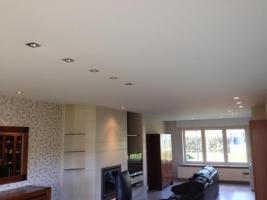 Plafotex Plafond voorzien van inbouw spotjes met led verlichting